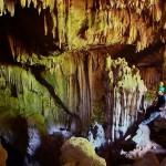 Colorful Tham Pha Mon cave, Pang Mapha, Thailand