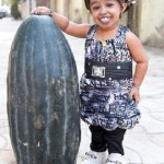 Jyoti Amge is the tiniest woman on Earth