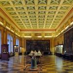 Beautiful Majolica hall