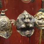 Helmets in The Knights' Hall