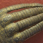 Iron gloves in The Knights' Hall