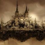 Imminent utopia. 2008. Art by Kris Kuksi