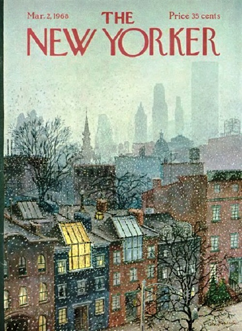 Beauty Will Save The New Yorker Vintage Covers Beauty