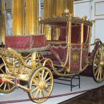 Big French coach, 1720s. Manufacture des Gobelins, Paris