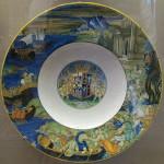 Plate. Abduction of Helen Nicola da Urbino