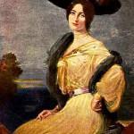 F.A. Von Kaulbach. 1904 portrait of Cleo de Merode