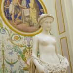 Beautiful sculpture in the halls