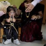 Jyoti Amge the world's tiniest woman