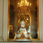 Exquisite clock in The Pavilion Hall