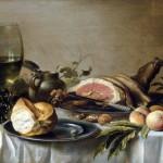 Pieter Claesz – Breakfast with ham