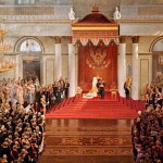 Polyakov – Throne Speech of Nicholas II during the opening the first the State Duma of the Winter Palace