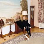 At home, Alla Pugacheva