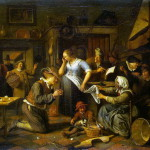 Jan Steen – The marriage contract