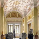 Ukhtomsky Konstantin Andreevich. halls of the New Hermitage. Cabinet of Egyptian sculpture