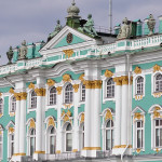 Buildings and exhibitions of the Hermitage in St. Petersburg
