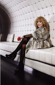 Most popular singer in Russia, Alla Pugacheva