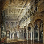 Alexandr-Wilgelm Hristoforovich Kolb. Interiors of the Small Hermitage. The Pavilion Hall