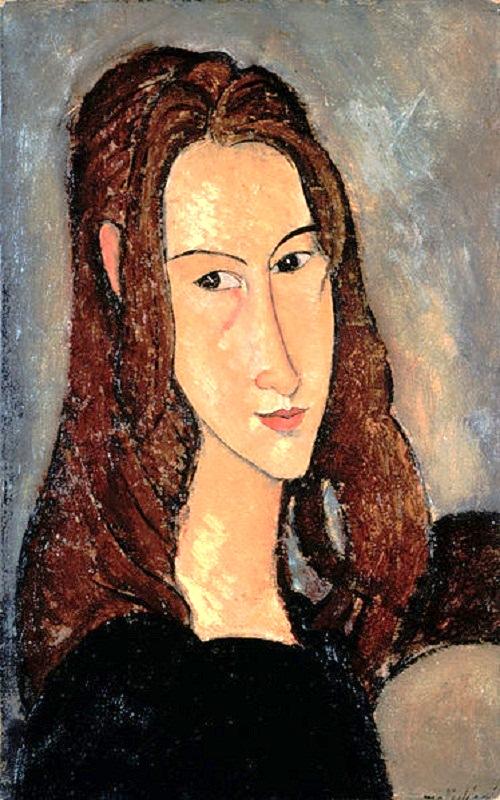 Portrait of Jeanne Hebuterne, 1918