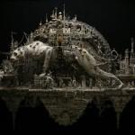 The plague parade. Art by Kris Kuksi