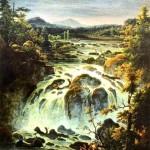 Imatra Waterfall in Finland. FM Matveev