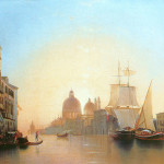 View of the Grand Canal in Venice, AN Mordvinov