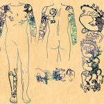 Drawings of tattoos. Siberian Princess reveals 2500 year old tattoos