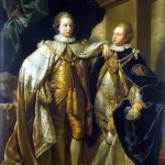 Benjamin West – Portrait of George, Prince of Wales, and Prince Frederick, later Duke of York