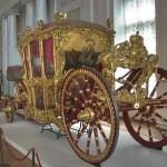 'Big' French coach, 1720s. Manufacture des Gobelins, Paris