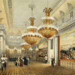 Field Marshal Hall. Winter Palace. Sadovnikov Vasily Semenovich