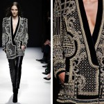 A very special and beautiful Balmain jacket for Fall-Winter 2012//13, embellished and embroidered in a Fabergé egg-style with thousands of pearls and crystals