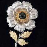 Flower. Silver