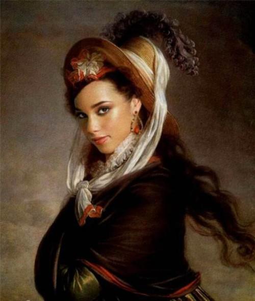 Alicia Keys. modern renaissance women