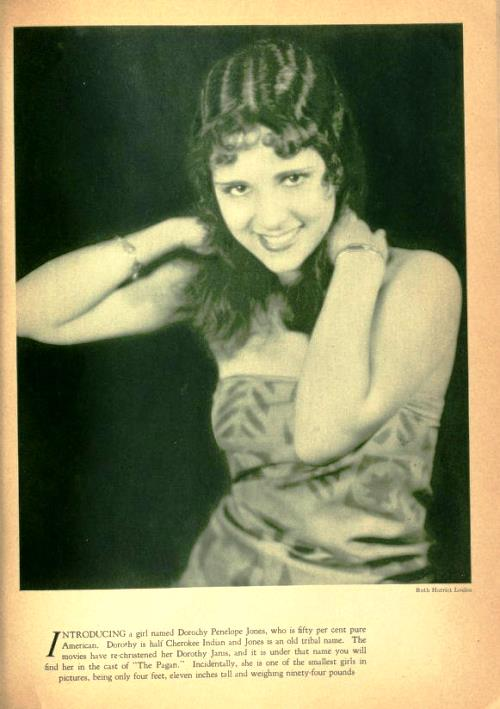 American silent film actress Dorothy Janis (February 19, 1912 – March 10, 2010)