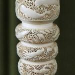 Unique Bone carving. Kholmogory, Russia