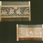 Artful hair combs