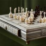 Chess set. Kholmogory