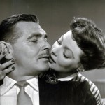 Loretta Young and Clark Gable
