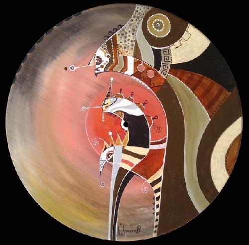 Fernando Chamarellis colorful art