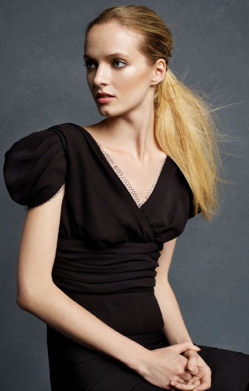 Beautiful Russian model and actress Daria Strokous