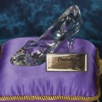 Cindirella's crystal shoe
