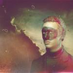 Masked man. Digital Illustration by St. Petersburg based artist Alex Frolov