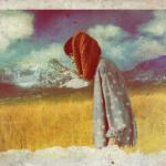 Walking in the field. Digital Illustration by Russian artist Alex Frolov