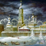 Fairy tale winter of Russia