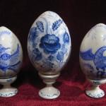 Easter eggs. Gzhel