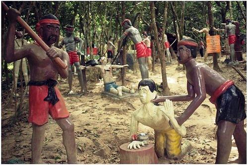 Hell Garden in Thailand