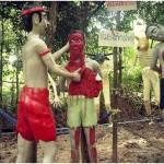 Punishment and horror. Hell Garden in Thailand