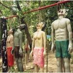 Tortured to death frighten visitors