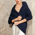 Glamorous fashion model Ksenia Kahnovich