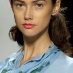 Fashion model Ksenia Kahnovich