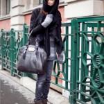 Wearing casual clothes, Ksenia Kahnovich, Russian supermodel